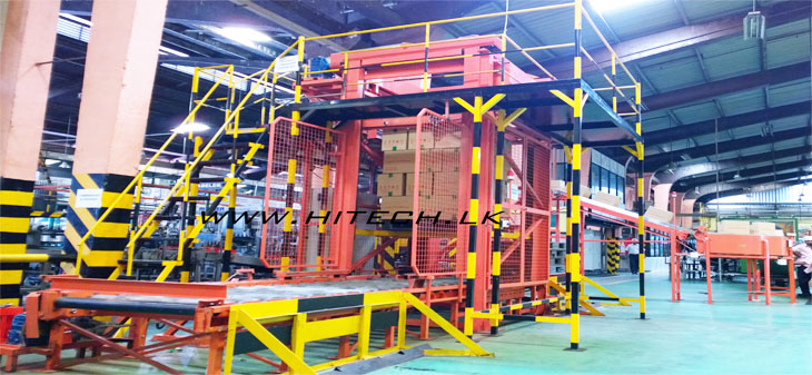 Speed up your production line performance with our Regular line palletizer